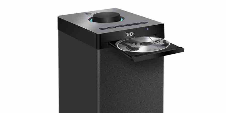 Torre de música con cd. Amazon torre sonido