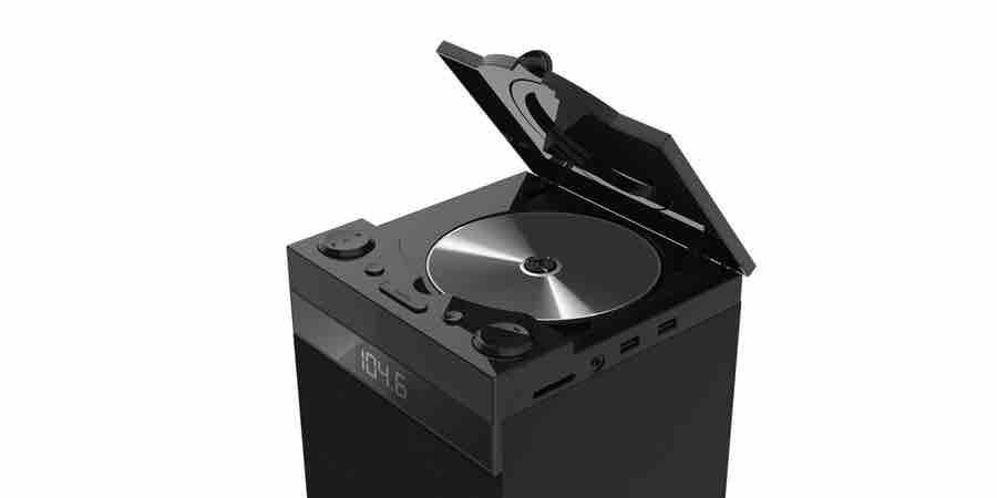 Torre de sonido con cd. Torre sonido cd, sonido cd